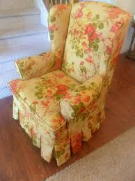 Custom Slipcovers By Shelley: Floral Wingback Chair With Boxpleat ... Sure Fit Cotton Duck Folding Chair Slipcover Wayfair Custom Slipcovers By Shelley Floral Wingback Chair With Boxpleat What Is Upholstery And How Do You Choose The Best Fabric For Your Bedroom Astonishing Wing Recliner For Elegant Home In Buffalo Check The Maker Chairs Redoubtable With Arms Magnificent Vintage Duralee Linen Blue White 2019 To Reupholster A A Bystep Tutorial Guide Amazoncom Tailor Microsuede Fniture Ikea Sofa Cover Couch Comfort Works