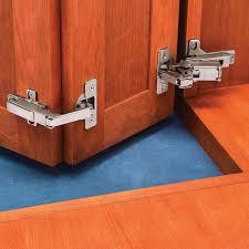 Salice Cabinet Hinges Uk by Salice 1 2 U0027 U0027 Overlay Face Frame Hinge Kit For Pie Corner Cabinets
