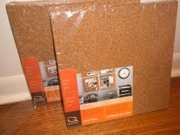 cork board small cork board tiles decorating fabric covered
