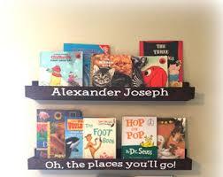 Dr Seuss Book Shelves Floating Book Ledge Book Ledges