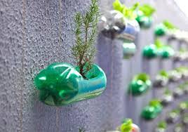 Turn Plastic Bottle Waste Into A Worthy Vertical Garden