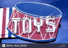 Vintage Toy Store Sign
