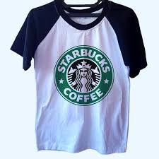 Starbucks Coffee Logo Raglan T Shirt