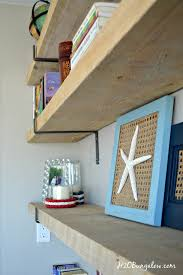 Industrial Wall Shelves With Cypress And Stell H2OBungalow