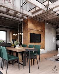 100 Industrial Style House Warm With Layout Project Room