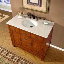 42 Inch Bathroom Vanity With Granite Top by Amazon Com Silkroad Exclusive Countertop Cream Marble Stone