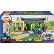 Tidmouth Sheds Deluxe Set by Buy Thomas And Friends Wooden Railway Tidmouth Sheds Online At Toy