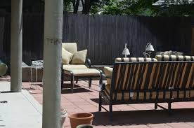 Patio Curtains Outdoor Plastic by Cabana U201d Patio Makeover With Diy Drop Cloth Curtains