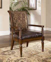 Rustic Accent Chairs Ashley Furniture All About Design C22 With