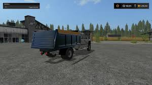 100 Chevy Dump Trucks 2006 CHEVY SILVERADO DUMP TRUCK V1 FS17 Farming Simulator 17 Mod