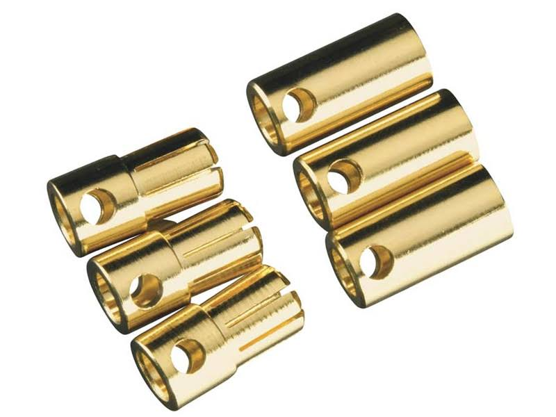Castle Creations High Current Bullet Connector Set - 6.5mm