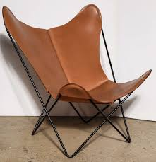 Butterfly Chair Replacement Covers Leather by Single Knoll Style Hardoy Butterfly Chair At 1stdibs