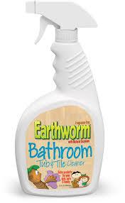 earthworm bathroom tub tile cleaner