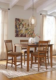 Ashley Furniture Berringer 5 Piece Drop Leaf Table Side Chair Set