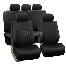 3-Row PU Leather Seat Covers For SUV Air Bag Safe & Split Bench ... Pu Leather Car Seat Covers For Auto Orange Black 5 Headrests Fia Leatherlite Custom Fit Sharptruckcom Truck Leather Seat Covers Truckleather Dodge Ram Mega Cab Interior Kit Lherseatscom Youtube Mercedes Sec 380 500 560 Beige Upholstery W126 12002 Ford F150 Lariat Supercrew Driver Scania 4series Eco Leather Seat Covers 22003 F250 Perforated Cover 2015 2018 Builtin Belt Compatible 0208 Nissan 350z Genuine Custom Orders