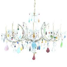 Multi Colored Chandelier Lighting Astounding Funky Modern Chandeliers For Dining Room White Background Colorful Light Hinging Ideas