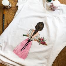 hand painted shirt