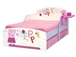 Plastic toddler bed safe for children and could use character