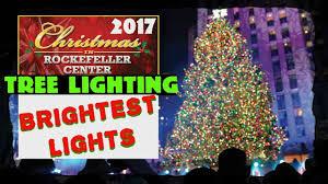 Christmas Tree Rockefeller 2017 by 2017 Rockefeller Center Christmas Tree Lights Part 3 Youtube