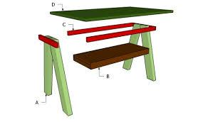 simple coffee table plans myoutdoorplans free woodworking