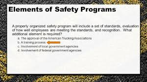 Managing Motor Fleet Safety Programs: Training For The Safety ...