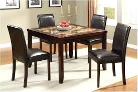 Nice Cheap Dining Room Sets Black And Brown Gorgeous Decor Granite Table Contemporary