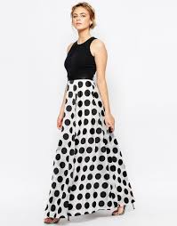 image 4 of coast polka dot maxi dress style pinterest tamera