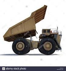 100 Used Dump Trucks For Sale In Nc Heavy Mining Dump Truck On White Background Side View 3D