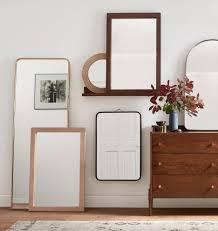 Dresser Mirror Mounting Hardware by Metal Framed Mirror Arched Rejuvenation