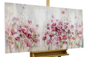kunstloft gemälde lilac reverie handgemaltes bild auf leinwand