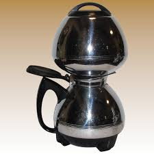 MCM Chrome Electric Vacuum Coffee Maker By Cory Corp Model ACB 8 Cup