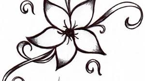 Easy Flower Drawing Flowers To Draw