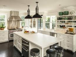 Industrial Kitchen Design White Modern Home Decor