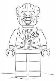 Lego Nightwing Coloring Pages Batman And Robin