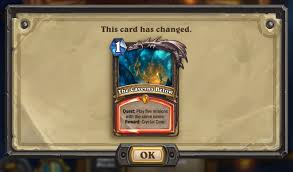 Overload Shaman Deck Frozen Throne by The Caverns Below Nerf Is Now Live Arena Clarifications U0026 Card