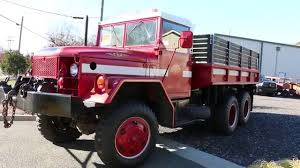 100 Deuce And A Half Truck 1972 MC GENERL 6x6 Military Cargo For Sale