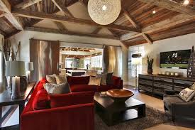 House In Redding Fairfield County CT Rustic Living Room