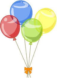 Balloon Birthday Party Clip Art 55