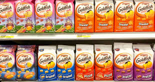 First Of All Goldfish Is Made With Genetically Engineered Ingredients GMOs Namely
