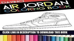 PDF Air Jordan Coloring Book Sneaker Adult Exclusive Full Ebook