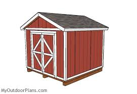 10x10 shed plans myoutdoorplans free woodworking plans and