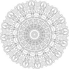 Full Image For Mandala Coloring Pictures Free Pages Online Printable