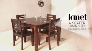 Janet 4 Seater Dining Table Set In Mahogany Finish At Wooden Street ... Shop Psca6cmah Mahogany Finish 4chair And Ding Bench 6piece Three Posts Remsen Extendable Set With 6 Chairs Reviews Fniture Pating By The Professionals Matthews Restoration Tustin Chair Room Store Antoinette In Cherry In 2019 Traditional Sets Covers Leather Designs Dark Superb 1960s Scdinavian Design Rose Finished Teak Transitional Upholstered Mahogany Ding Room Chairs Lancaster Table Seating Wooden School House Modern Oval Woptional Cleo Set Finish Home Stag Extending Table 4