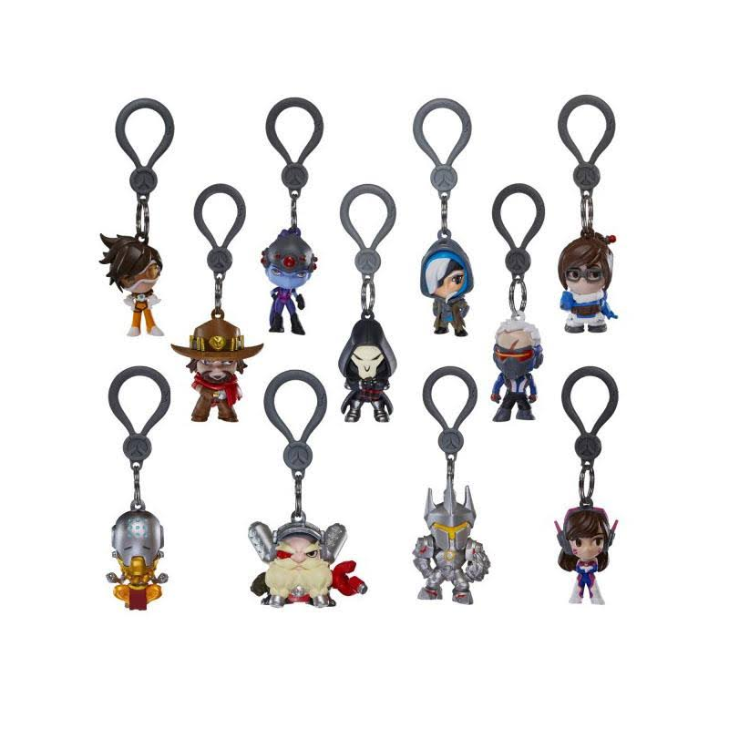 Overwatch Backpack Hangers Mini Figure - Retrospace