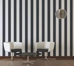 michalsky living tapete streifen schwarz weiß 304597