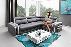 avatar corner sofa bed brand new modern design grey with white