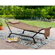 Living Accents Folding Hammock Chair by Mainstays Wentworth Deluxe Hammock Walmart Com