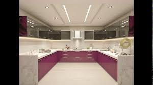 C Shaped Modular Kitchen Designs