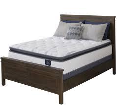 Serta Perfect Sleeper Air Mattress With Headboard serta mattresses u2014 for the home u2014 qvc com