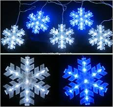 Outdoor Snowflake Christmas Lights Impressive Design